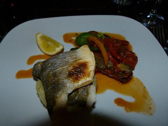 River House Restaurant : The Sea-bars Dish