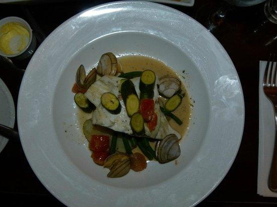 River House Restaurant : The Tarbot Dish