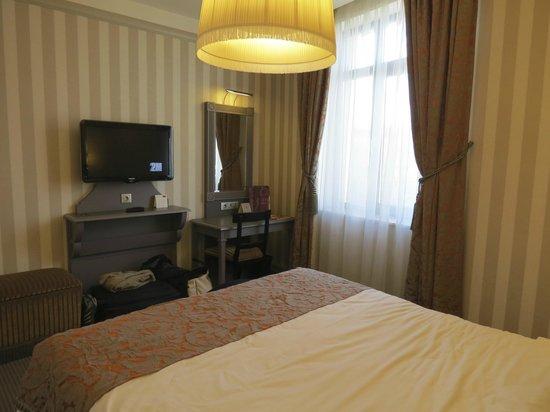 Mercure Arbat Moscow: Chambre au 6ème étage