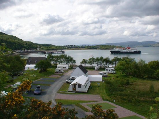 Shieling Holidays: Caravan pitches by the sea