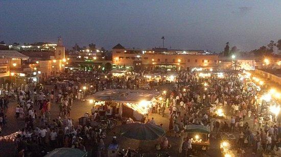 Riad Aguerzame: La place Dja El Fnah à 5 minutes à pied du Riad