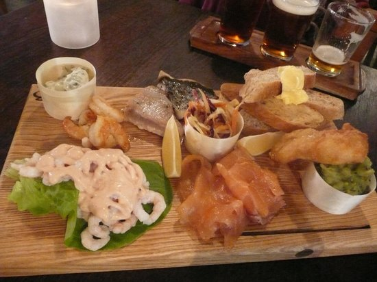 Old Sessions House: The Coastal Plank shared starter