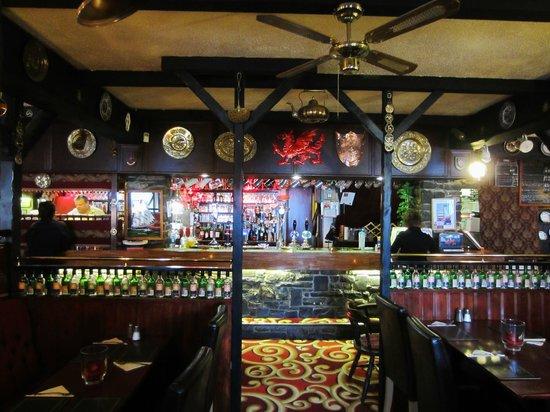 Wellington Inn, the bar