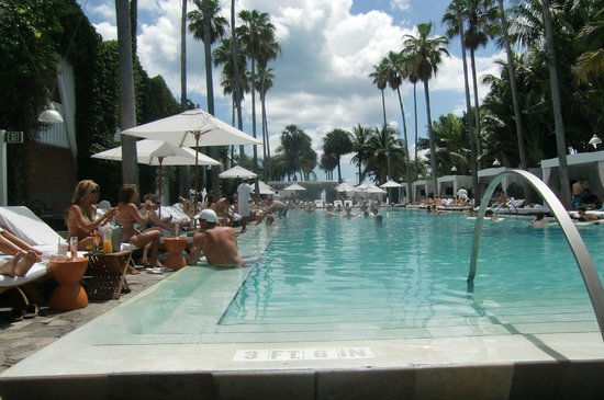 Delano South Beach Hotel: Pool time