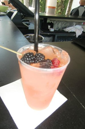 Delano South Beach Hotel: One good drink