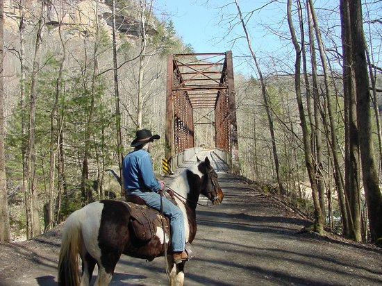 Big South Fork National River & Recreation Area: O & W Bridge