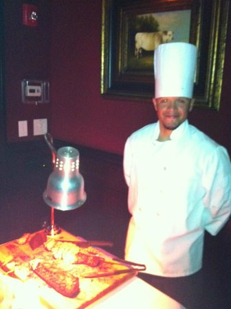The Capital Grille: Chef with Beef Tenderloin