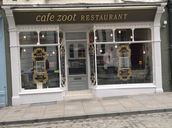 Cafe Zoot Lincoln Menu