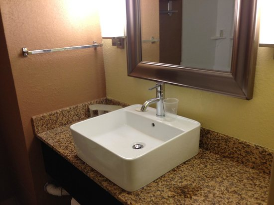 Holiday Inn Express Ft. Lauderdale Cruise-Airport: Retro-fit sink