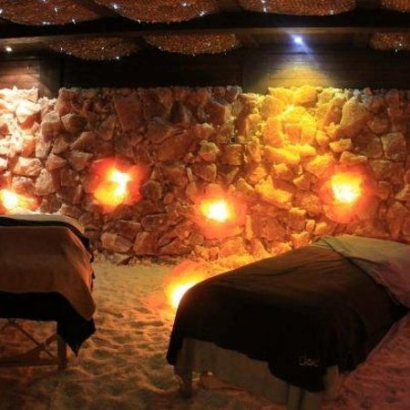 Couple S Massage Inside The Salt Therapy Cave Picture Of