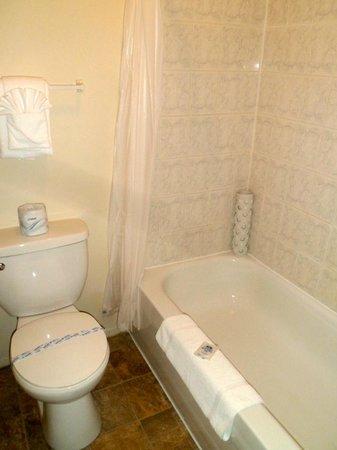 Canadas Best Value Inn and Suites: Petite salle de bain, mais d'une propreté incontestable