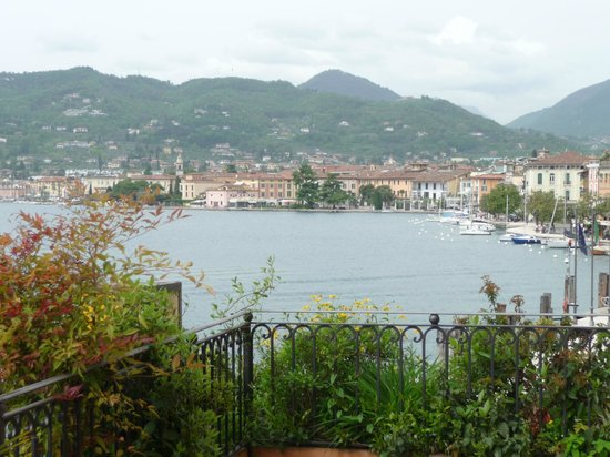 Hotel Vigna: The view from our Deluxe Room