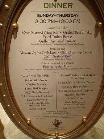 buffet menu and price picture of encore at wynn las vegas las rh tripadvisor com aria las vegas buffet menu rio las vegas buffet menu