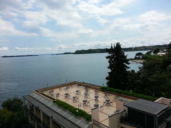 Hotel Savoy Palace: View from our room