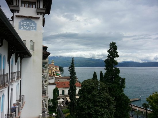 Hotel Savoy Palace: view from our balcony