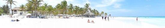 El Paraiso Hotel Tulum: Club de playa