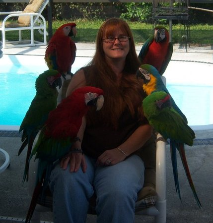 Bird Gardens of Naples: keri & crew