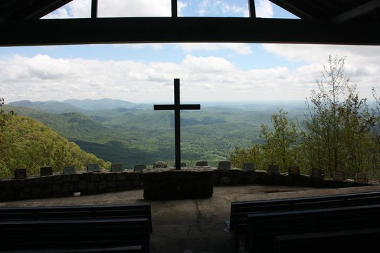 Fred W. Symmes Chapel: I will lift up my eyes to the hills...