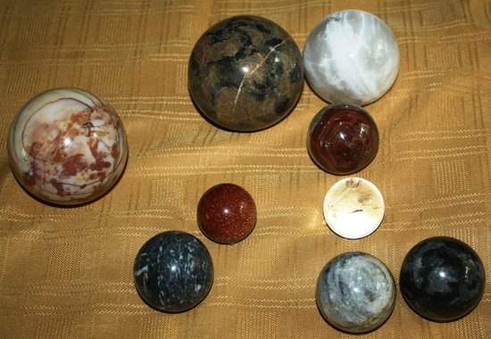 Mineral Museum of Michigan: Sparkling, unique spheres