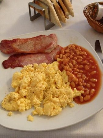 Mentone Hotel: English breakfast