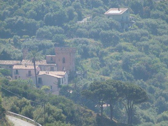Villa Palamara 1868 : View from Near by Village
