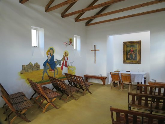 Les Hauts de Montagu: Interior of chapel