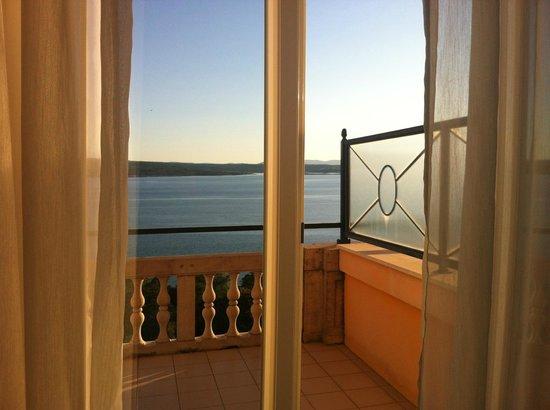 Hotel Kvarner Palace: vista dal letto