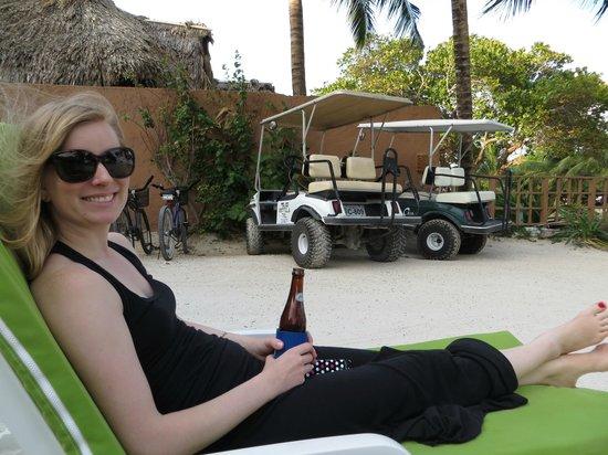 Caye Casa : Relaxing