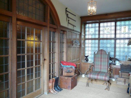 Kinloch House: Entrée