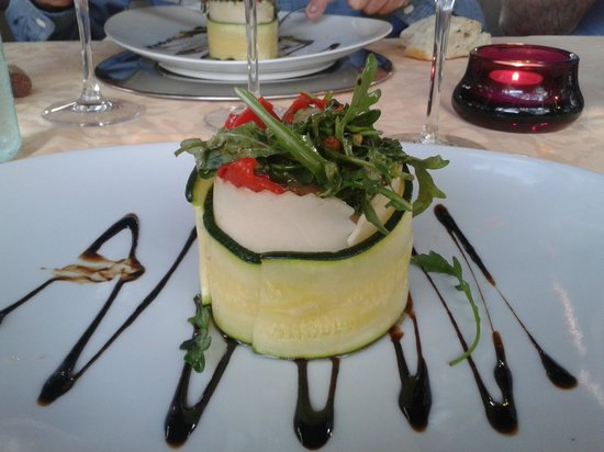 Hotel Alcadima: One of many tasty starters