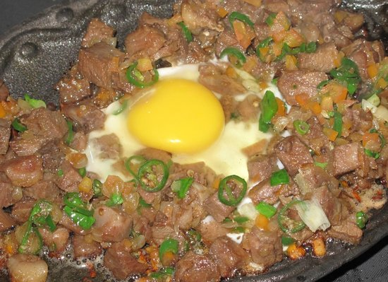El Sueno Resort and Restaurant: Ox Tongue sisig