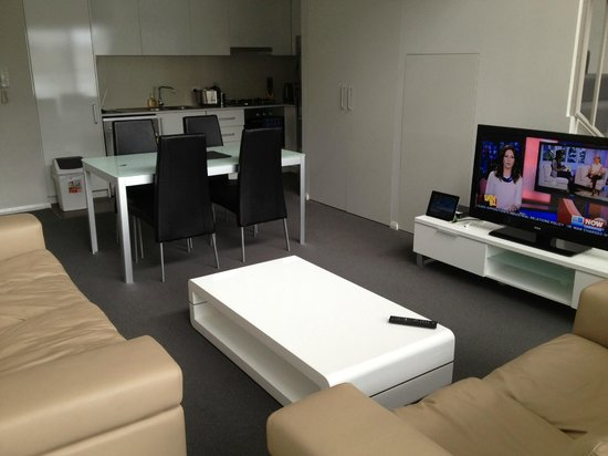 فيرانده أبارتمنتس: Lounge area
