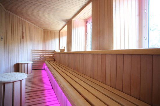 Hotel Columbia Wellness & SPA: sauna panoramica