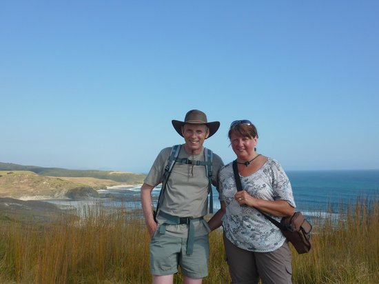 McKenzies: on our coastal walk near Omapere