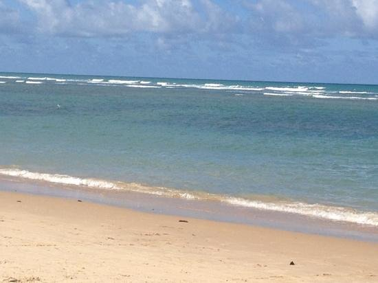 Mucuge Beach : A praia