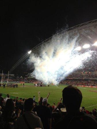 Hong Kong Stadium: great party