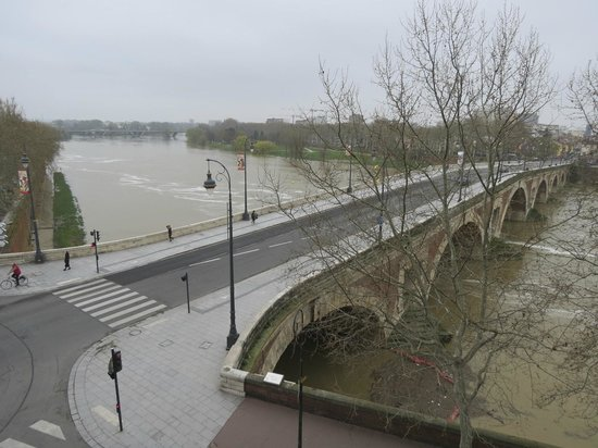 Hotel des Beaux Arts : Vue Garonne