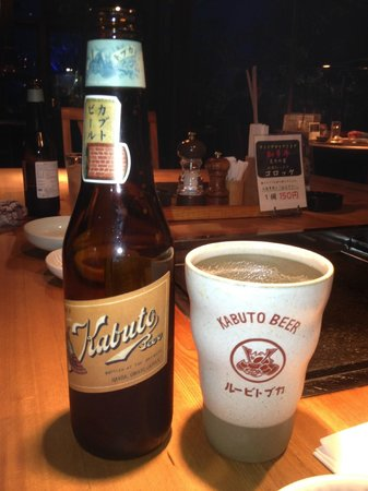 Candeo Hotels Handa: Excellent locally-brewed beer
