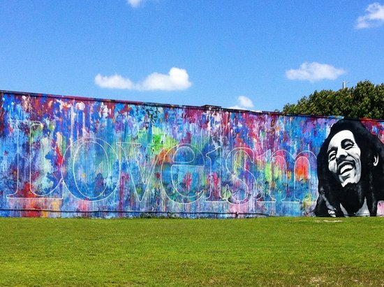 Wynwood: Marley = Loveism (the colors spell this)