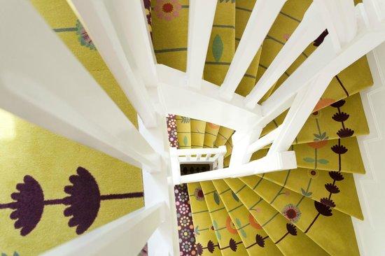 Le Gamaritz : Détail de l'escalier