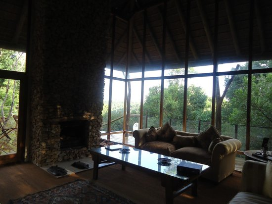 Trogon House and Forest Spa: Main lodge interior