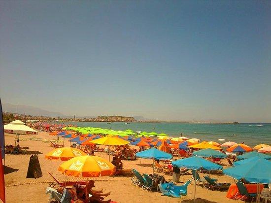 Hotel Batis Rethymno: Beach