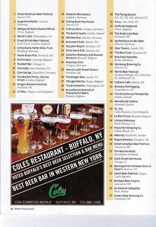 """Gosenschenke Ohne Bedenke: """"The Beertraveler"""" aus Amerika zählt """"Ohne Bedenken"""" zu den 150 besten Bierlokalen der Welt!"""