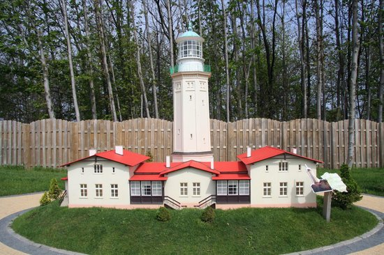 Niechorze, Polandia: Leuchtturm, Miniatur