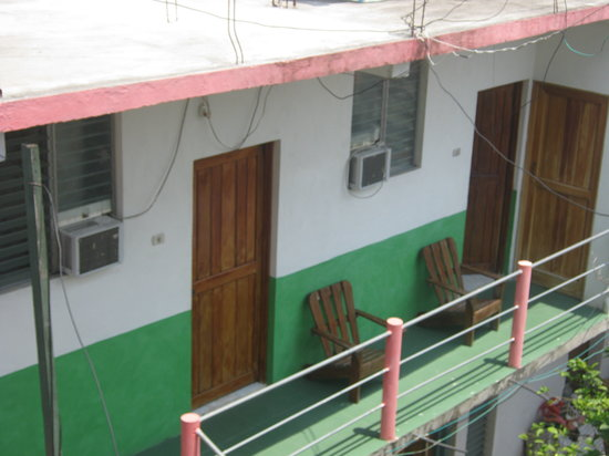 Hotel La Canoa: Habitaciones con su aire