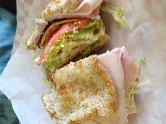 Lott, Teksas: Club sandwich-  mmmmm mmmmm good!!