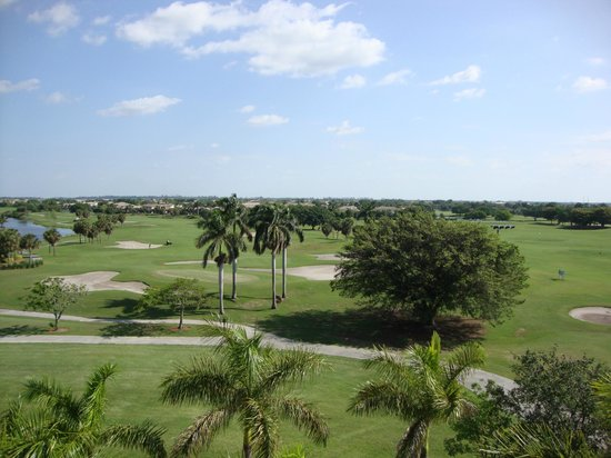 Fort Lauderdale Marriott Coral Springs Hotel, Golf Club & Convention Center: Lovely View