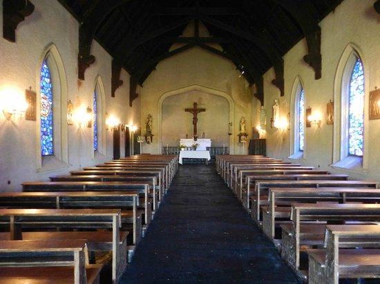 Estancia La Candelaria: Iglesia