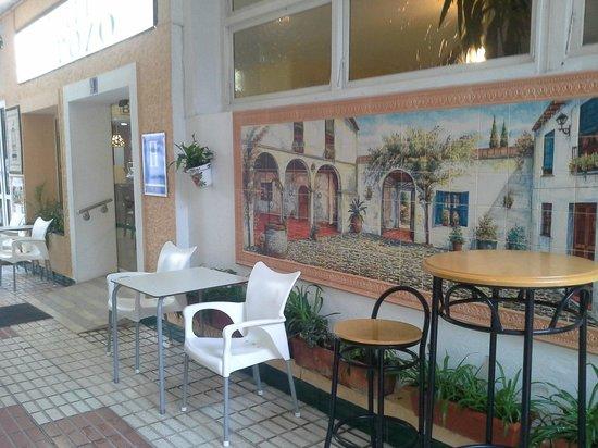 Hotel El Pozo: Terrace