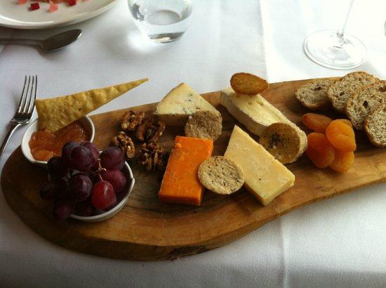 The english cheeseboard picture of park terrace for The terrace restaurant and bar